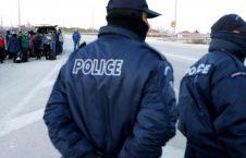 یونان پولیس 226x145 - پولیس یونان دهها پناهجوی افغان را دستگیر کرد