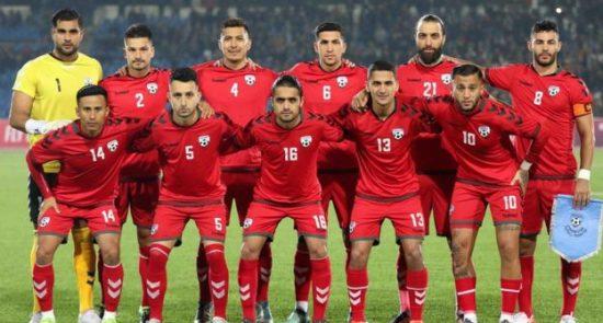 109721963 77084703 2667790699955111 5869926941540220928 o 550x295 - بازی مقتدرانه تیم ملی فوتبال افغانستان در برابر قهرمان آسیا
