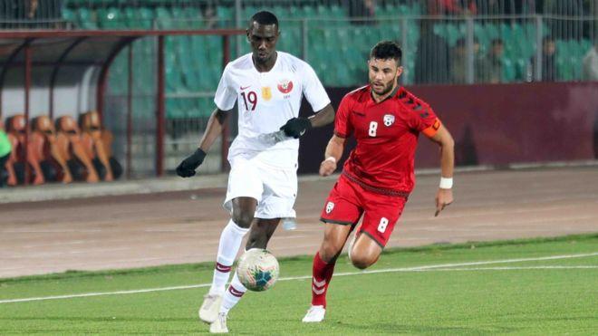 109721965 78458409 2667791283288386 8966143073948008448 o - بازی مقتدرانه تیم ملی فوتبال افغانستان در برابر قهرمان آسیا