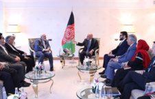 اشرف غنی ظریف 226x145 - دیدار رییس جمهور غنی با وزیر امور خارجه ایران