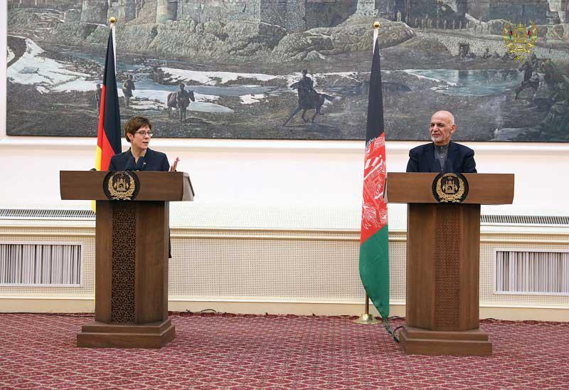 اشرف غنی - ادامه همکاریهای نظامی-اقتصادی جرمنی با افغانستان