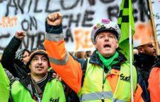 اعتصابات در فرانسه 4 226x145 - تصاویر/ ادامه اعتصابات در فرانسه