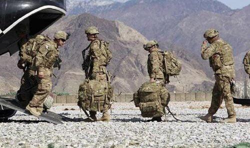 امریکا عسکر. jpg 500x295 - گزارش واشینگتن پوست درباره زمان خروج نیروهای امریکایی از افغانستان