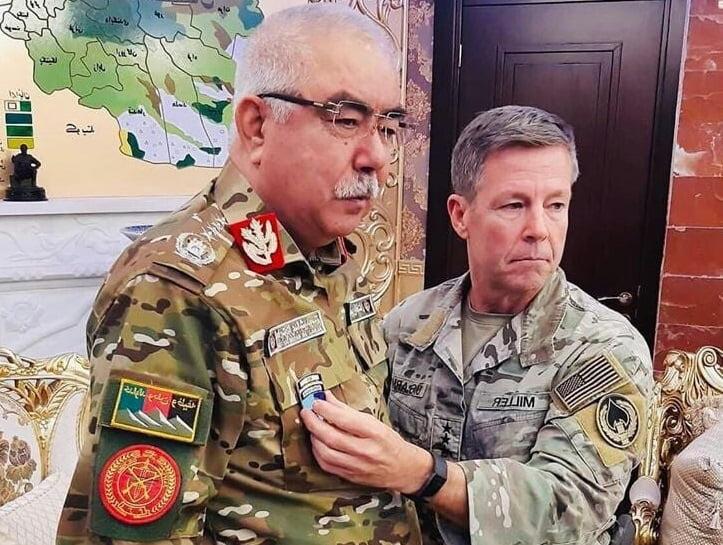 جنرال دوستم  - مدال میلر بر سینه دوستم، آیا جنرال خریدنی است؟