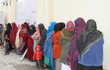 زندانی زن 1 226x145 - رهایی 25 زندانی زن از محبس اناثیه ولایت کابل