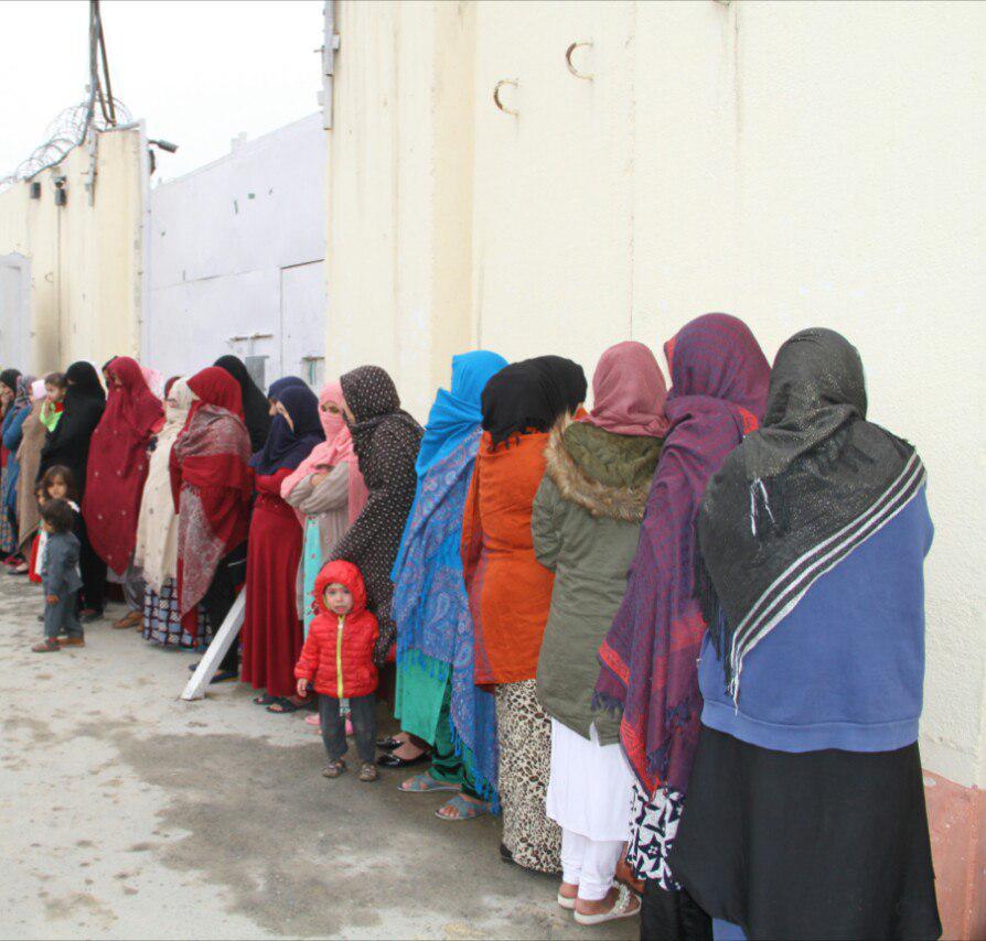 زندانی زن 1 - رهایی 25 زندانی زن از محبس اناثیه ولایت کابل