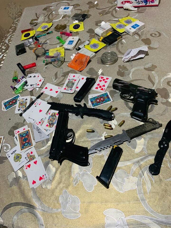 سلاح - بازداشت 13 تن در پیوند به جرایم جنایی از 4 ولایت کشور