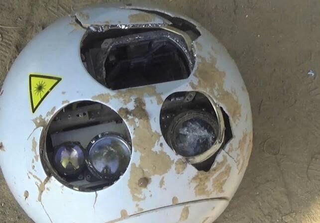 طیاره بی پیلوت سعودی 2 - تصاویر/ سقوط طیاره بی پیلوت سعودی