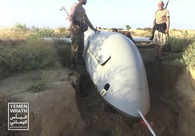 طیاره بی پیلوت سعودی 6 - تصاویر/ سقوط طیاره بی پیلوت سعودی