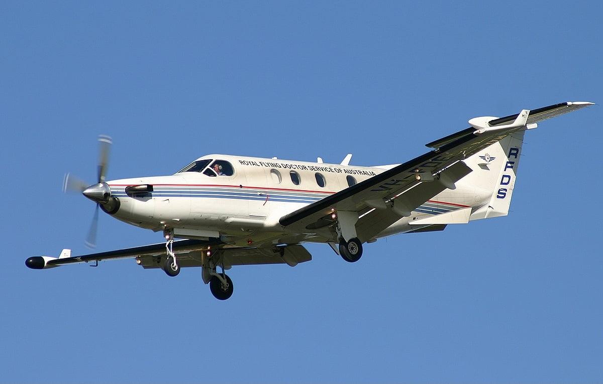 طیاره پیلاتوس پی سی ۱۲ - سقوط مرگبار طیاره در ایالت داکوتای جنوبی امریکا