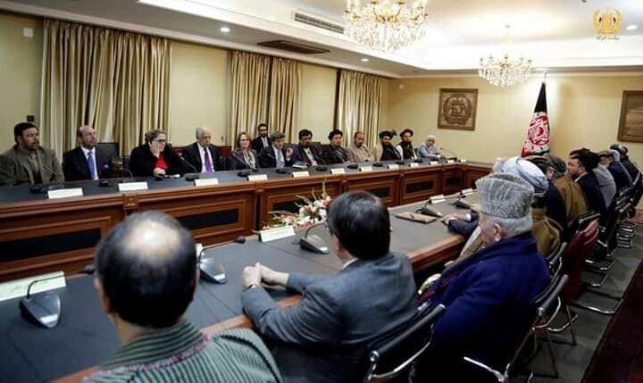 عبدالله خلیلزاد 3 - تصاویر/ دیدار خلیلزاد با ریاست اجرایی کشور