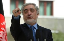 عبدالله عبدالله 1 226x145 - هواداران دسته انتخاباتی ثبات و همگرایی شاهراه شمال کابل را بستند