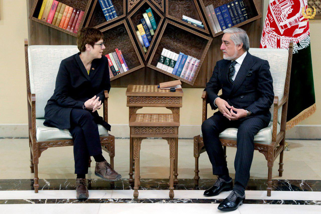 عبدالله عبدالله 2 - ادامه همکاریهای نظامی-اقتصادی جرمنی با افغانستان