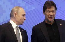 عمران خان پوتین 226x145 - تهدیدات هند و انزوای امریکا، عامل گسترش روابط پاکستان با روسیه