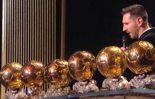 لیونل مسی برنده توپ طلا شد