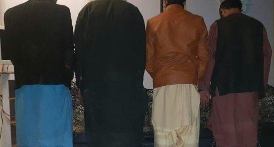 مجرم 550x295 - بازداشت 13 تن در پیوند به جرایم جنایی از 4 ولایت کشور