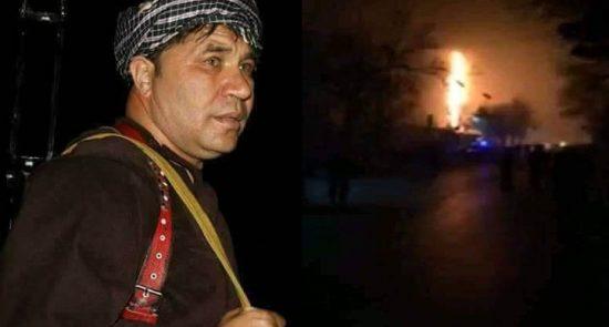 نظام الدین قیصاری 2 550x295 - هشدار فرمانده پیشین ولسوالی قیصار به طالبان؛ قیصاری: به زودی انتقام می گیریم