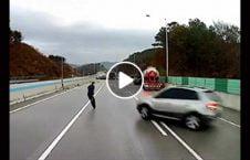 ویدیو تصادف زنجیره 226x145 - ویدیو/ لحظه وقوع یک تصادف زنجیره ای