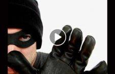 ویدیو حرکات سارق سرقت بانک 226x145 - ویدیو/ حرکات خنده دار سارق پس از سرقت از بانک
