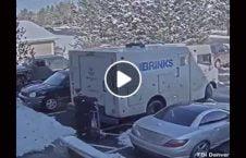 ویدیو سرقت موتر حمل پول امریکا 226x145 - ویدیو/ لحظه سرقت از موتر حمل پول در امریکا