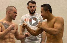 ویدیو مبارزه حسین بخش صفری روسی 226x145 - ویدیو/ مبارزه دیدنی حسین بخش صفری در برابر حریف روسی اش