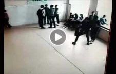 ویدیو مزاح خطرناک هم صنفی روسیه 226x145 - ویدیو/ مزاح بسیار خطرناک هم صنفی ها در روسیه