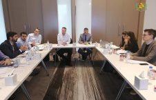 احمد ولی حکمی 226x145 - جلسه هیئت وزارت امور مهاجرین با اداره مالی جرمنی در دوبی