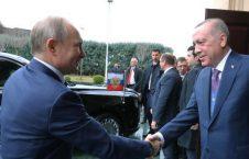 اردوغان پوتین 2 226x145 - تصاویر/ دیدار روسای جمهور روسیه و ترکیه