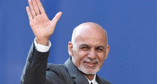 اشرف غنی1 550x295 - سفر دو روزه رییس جمهوری اسلامی افغانستان به تاجکستان