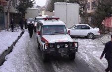 امبولانس 226x145 - نگرانی باشندهگان پایتخت از افزایش جرمهای جنایی