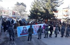 باشنده گان کابل  226x145 - تجمع باشنده گان کابل در مقابل سفارت پاکستان