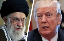 ترمپ خامنه ای 226x145 - هشدار رییس جمهور امریکا به رهبر ارشد ایران
