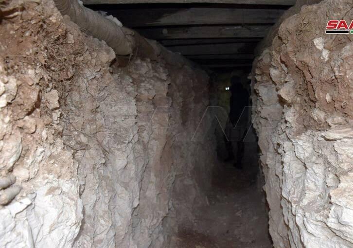تونل سوریه 3 - تصاویر / کشف تونلهای تروریستها در سوریه