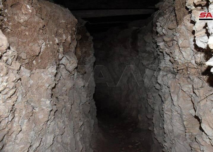تونل سوریه 4 - تصاویر / کشف تونلهای تروریستها در سوریه