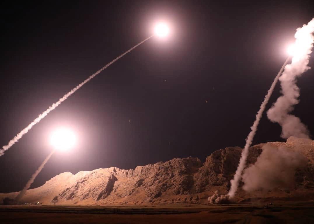 راکت - حمله راکتی ایران به دو پایگاه امریکا در عراق