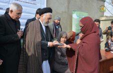 سیدحسین عالمی بلخی 226x145 - کمک رسانی به صدها خانواده بیجاشده در ساحه دیوان بیگی شهر کابل