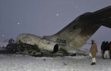 طیاره امریکا سقوط  226x145 - پنهانکاری مقامات ایالات متحده در پیوند به سقوط اسرار آمیز طیاره امریکایی در غزنی