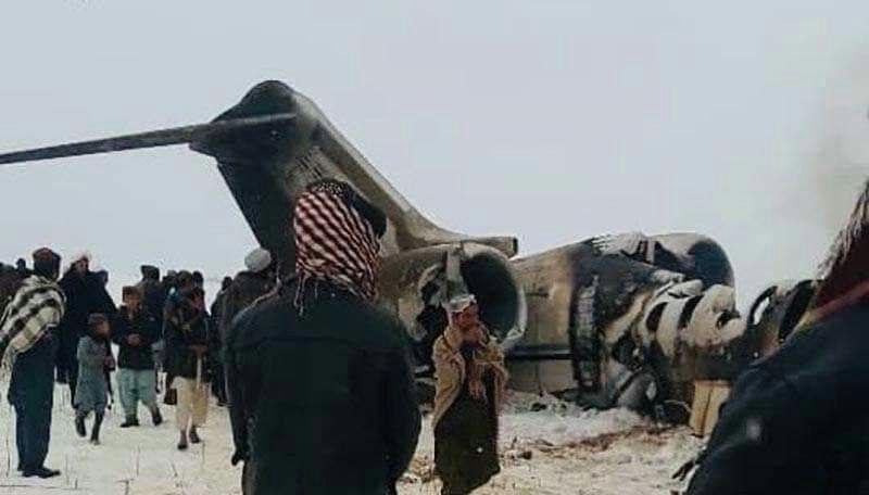 طیاره امریکا سقوط - واکنش وزارت دفاع ملی امریکا به حمله راکتی طالبان بالای طیاره این کشور