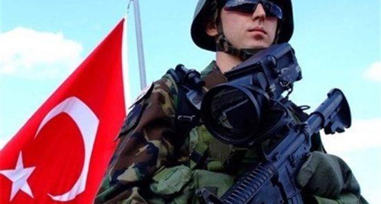 عسکر ترکیه 550x295 - آغاز عملیات نظامی جدید ترکیه در شمال عراق