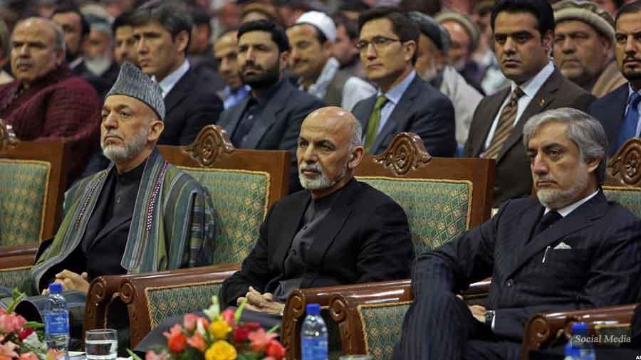 غنی کرزی عبدالله - پاسخ غنی به کرزی و عبدالله درباره روند صلح: دستتان به انگور نمیرسد، میگویید ترش است!