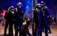 فرانسه تظاهرات 5 226x145 - انتقاد نماینده گان پولند از برخورد مستبدانه پولیس فرانسه با معترضان