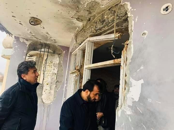 قیصاری هیات اعزامی کابل 1 - نتیجه بررسی های هیات اعزامی کابل در پیوند به عملیات نظامی بالای خانه قیصاری