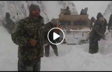 ویدیو اردو پولیس شاهراه زابل 226x145 - ویدیو/ تلاش نیروهای امنیتی برای بازگشایی شاهراه نمبر یک زابل
