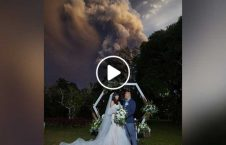 ویدیو ازدواج متفاوت کوه آتشفشان 226x145 - ویدیو/ مراسم ازدواج متفاوت در نزدیکی کوه آتشفشان