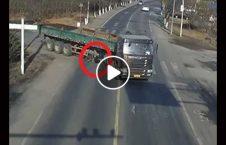 ویدیو بایسکل تیر لاری زنده 226x145 - ویدیو/ بایسکل سواری که از زیر تیرهای لاری زنده بیرون آمد!