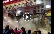 ویدیو فرو ایستگاه قطار هند 226x145 - ویدیو/ فرو ریختن ایستگاه قطار در هند