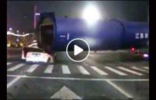 ویدیو له شدن موتر بار لاری 226x145 - ویدیو/ له شدن موتر در زیر بار یک لاری