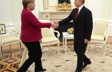پوتین میرکل 2 226x145 - تصاویر/ دیدار صدراعظم جرمنی با رییس جمهور روسیه