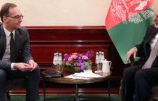 اشرف غنی هایکو ماس 226x145 - اعلام حمایت جرمنی از پروسه صلح در افغانستان