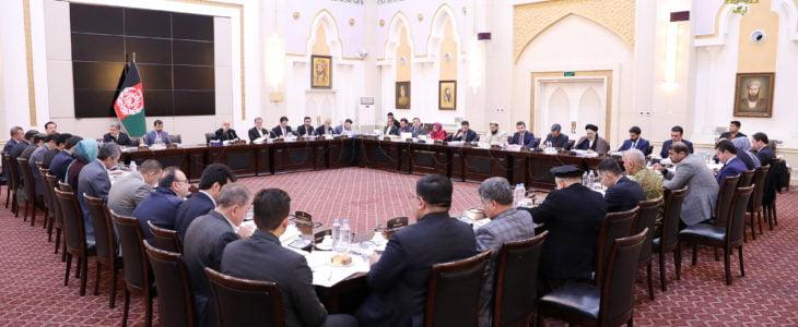 اشرف غنی کابینه - پلان مقررۀ کمیته مشترک رسانه ها و حکومت به تصویب کابینه رسید
